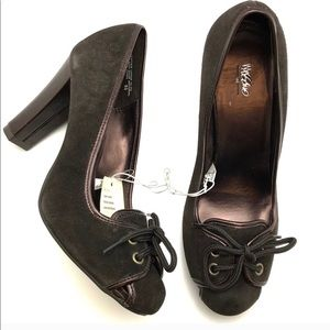 Mossimo heels chocolate brown
